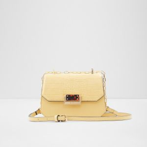 aldo singapore cross body handbag with metal plate for women online yellow 1