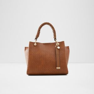 aldo singapore tote handbag with zipper closure for ladies online brown 1
